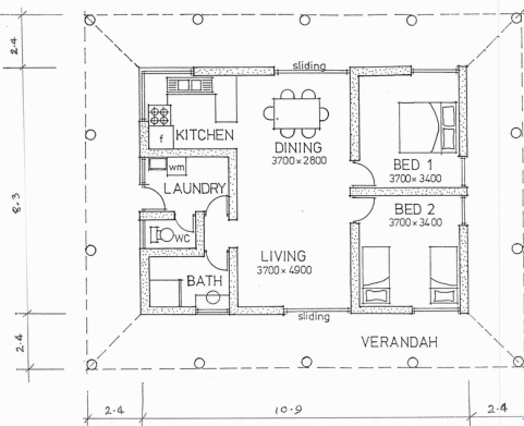 Scale drawing learning the basics interior design for Interior design layout drawing